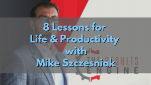 Lessons for life and productivity