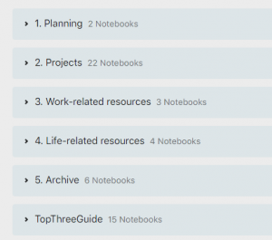 Screenshot note-taking system in Evernote