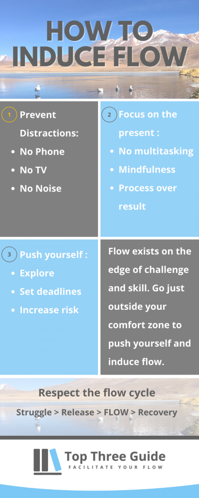 Use these flow inducing triggers to make inducing flow easier.
