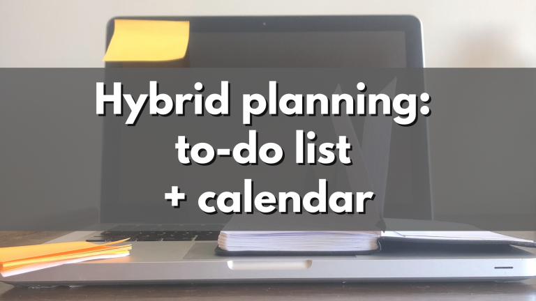 How To Get MORE Out Of Your To-Do List Or Calendar