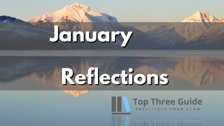 Read more about the article January Reflections